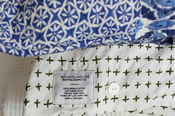 schoolhouse electric pillow cases