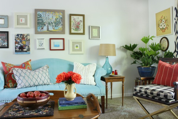 our vintage eclectic living room tour 74841