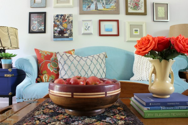 vintage eclectic living-room