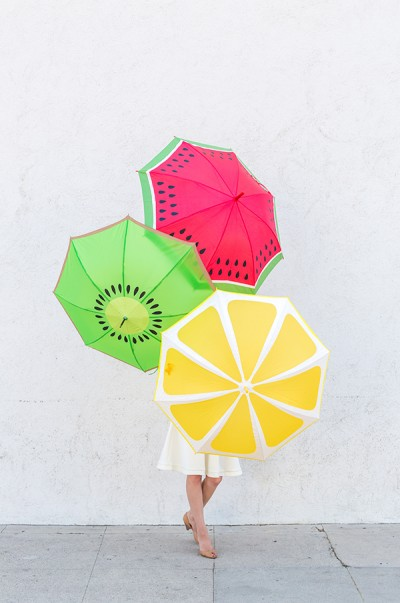 DIY Fruit Slice Umbrellas from Studio DIY