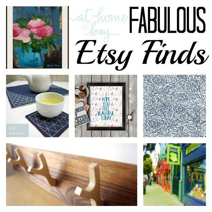 Fabulous Etsy Finds from At Home on the Bay