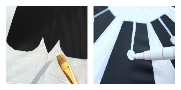 petal and stamen detail