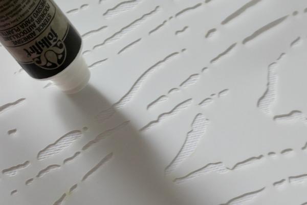 Stencil Adhesive from FolkArt #plaidcrafts