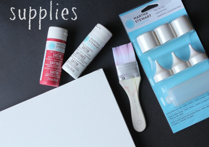 DIY Canvas Art Supplies