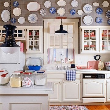 Ideas for turning ugly kitchen soffits into stylish accents