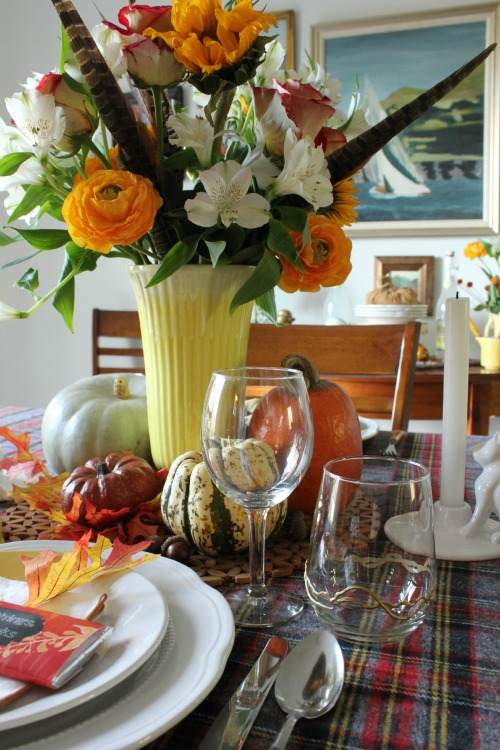 2014 Thanksgiving Tablescape