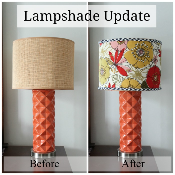 Easy Lampshade Update