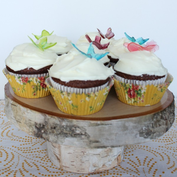 butterfly cupcake toppers