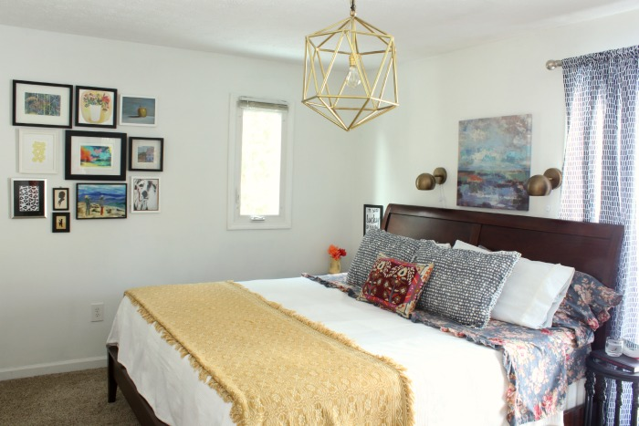 Colorful Eclectic Master Bedroom Reveal