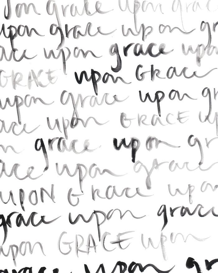 grace upon by Danielle Burkleo free printable