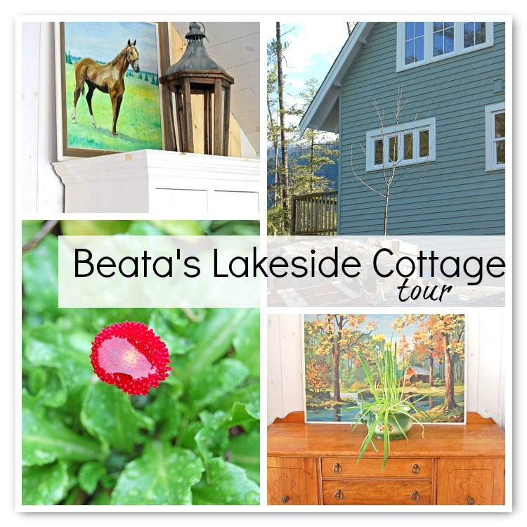 Beata's Lakeside Cottage Tour - At Home on the Bay