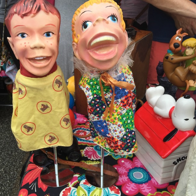 a tongue and cheek expose of the dark side of flea markets