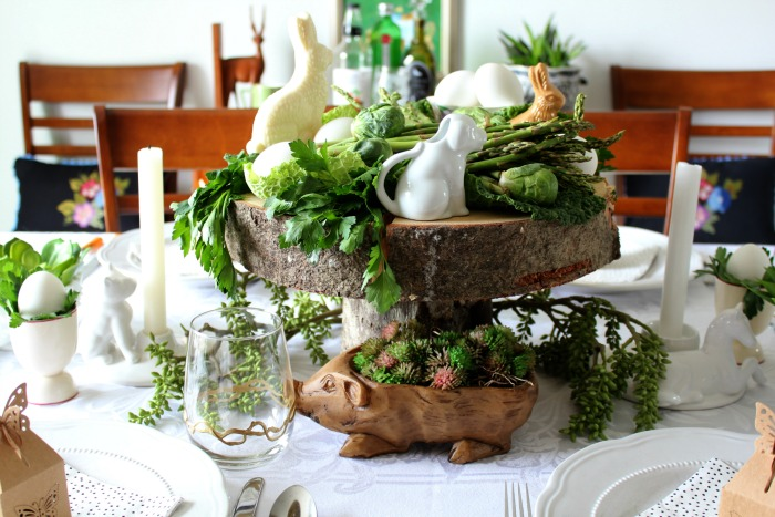Edible Easter Tablescape