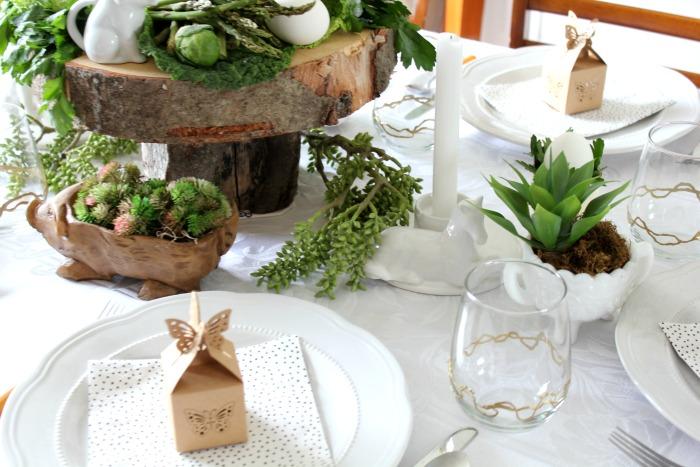 edible easter tablescape